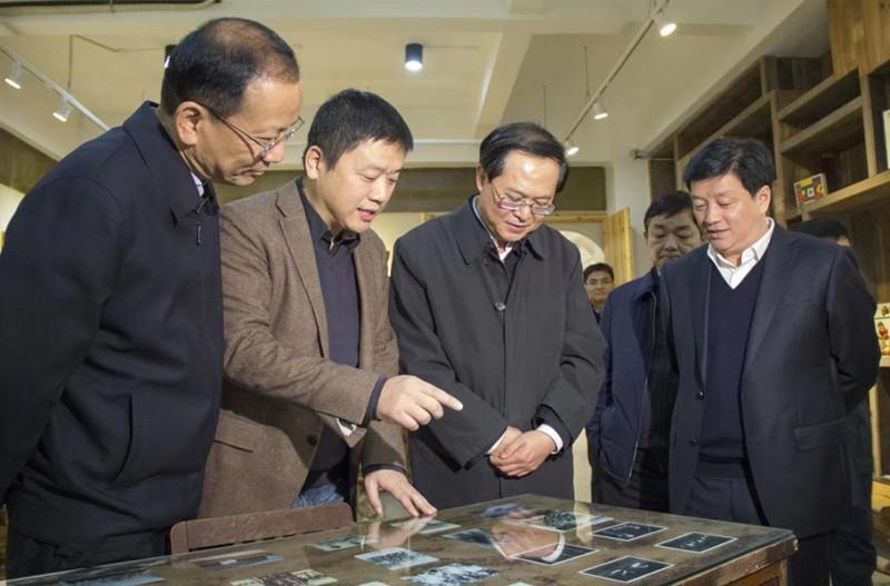 浙江省委书记车俊亲临和信集团参观视察