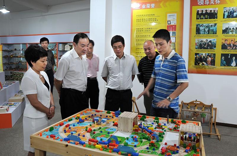 中共浙江省委宣传部—黄坤明部长莅临木玩世家