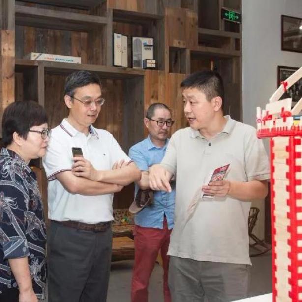 浙江树人大学李鲁校长带队赴丽水考察和信玩具深入推进校企合作